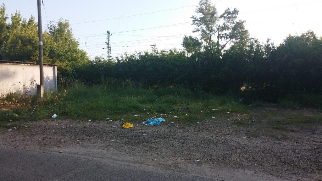 Nem tökéletes, de a nagy zsákok elkerültek. Vajon mi lesz a maradék sorsa? Fotó: hulladekvadasz.hu