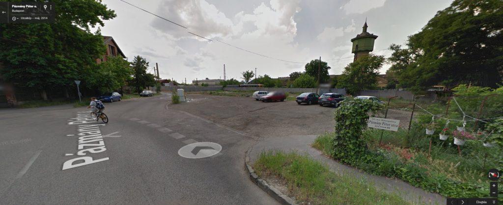 A Google Maps szerint 2014-ben a környék nem rendelkezett ezzel a jellegzetes utcaképpel. Fotó: Google Maps