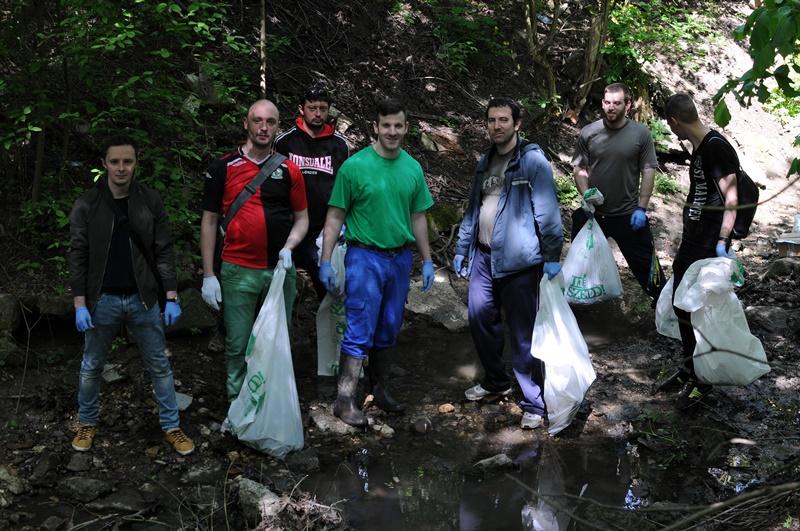 A 2016-os Teszedd! -en a hulladékvadász csapata. / Fotó: hulladekvadasz.hu