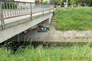 Rákos-patak hídja. Fotó: hulladekvadasz.hu