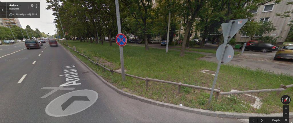 A Google Maps 2012-es helyszíni képe. Fotó: hulladekvadasz.hu