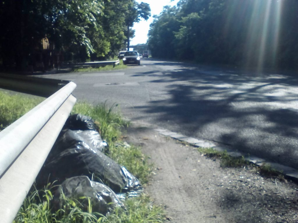 Határ út - Zalaegerszeg utca sarok. Fotó: hulladekvadasz.hu