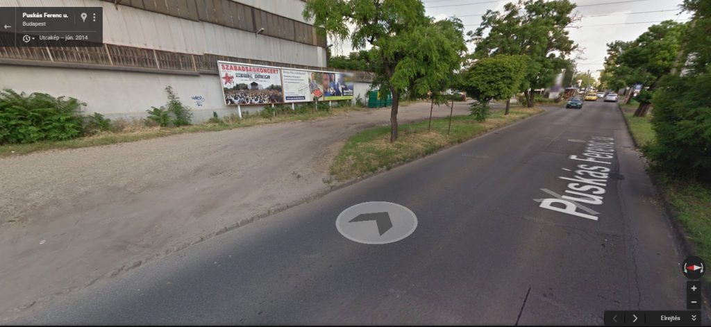 A Google Maps térképe szerint a terület rendezett volt 2014-ben. Fotó: Google Maps
