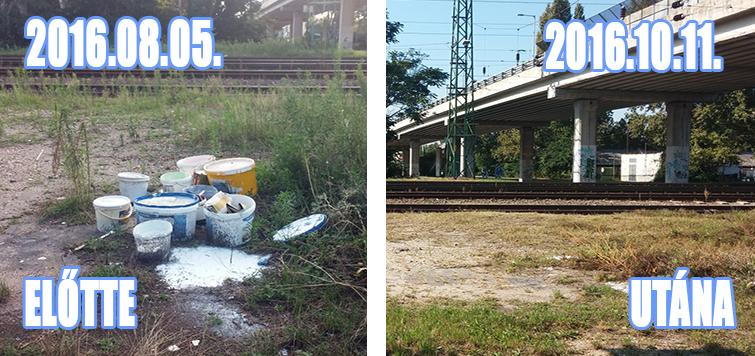 Veszélyes hulladék a XVI. kerület határán (Frissítve)