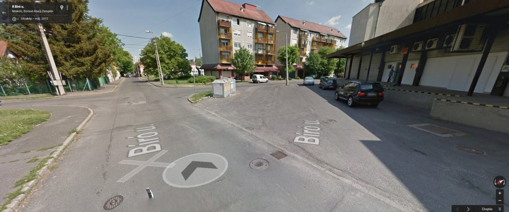A helyszín. Fotó: Google Maps