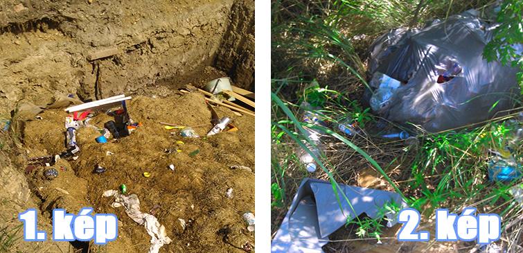 Különös hulladékgödör Múcsony nagyközségben (Frissítve)