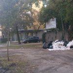 XIII. kerületi Tatai utca építési hulladék kupaca (Frissítve)