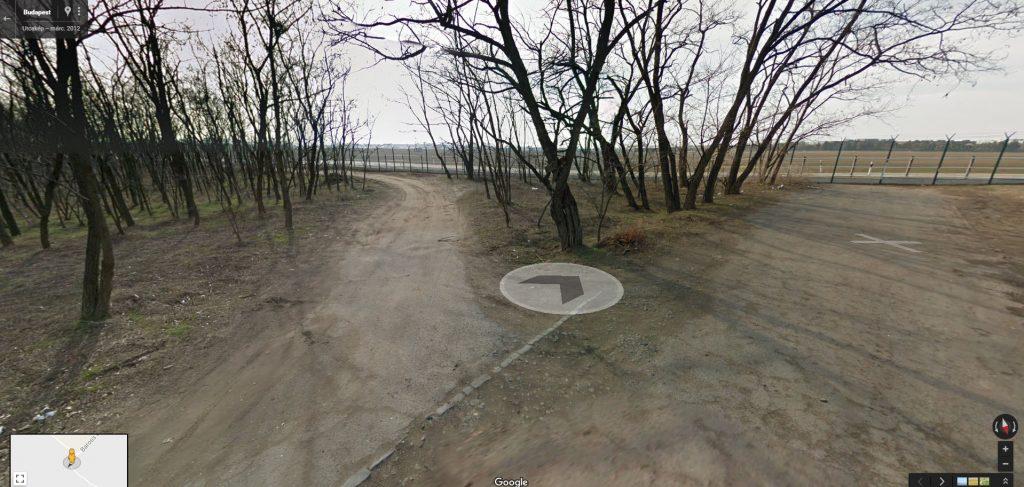 Rendezett állapotok voltak a helyszínen a Google Maps szerint 2012-ben. Fotó: Google Maps