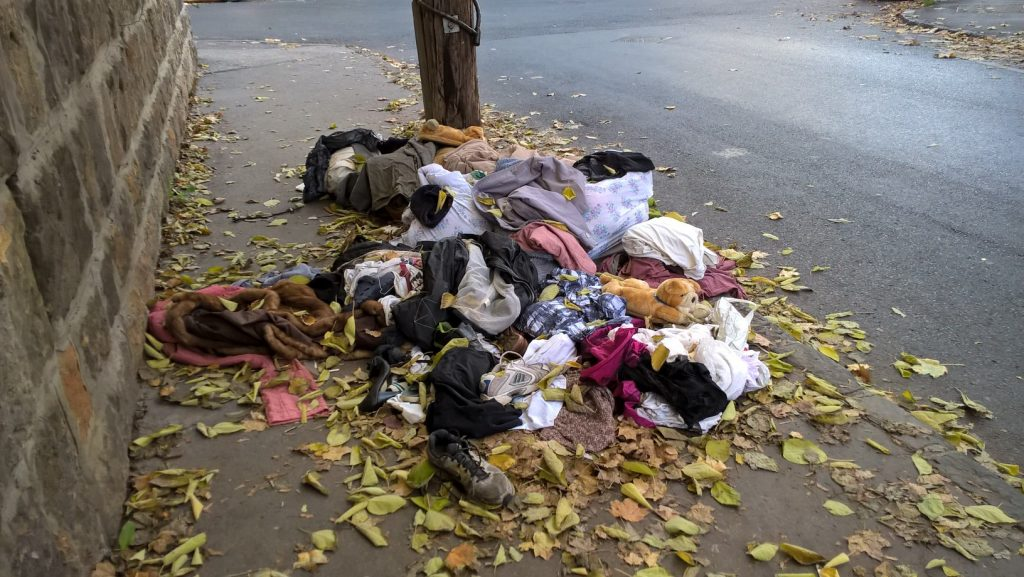 Városmajor Trombitás utca különvéleménye. Fotó: hulladekvadasz.hu