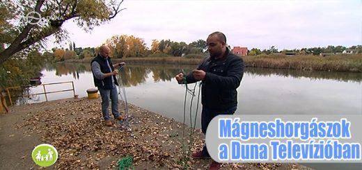 A mágneshorgászok szerepeltek a Duna Tv-ben