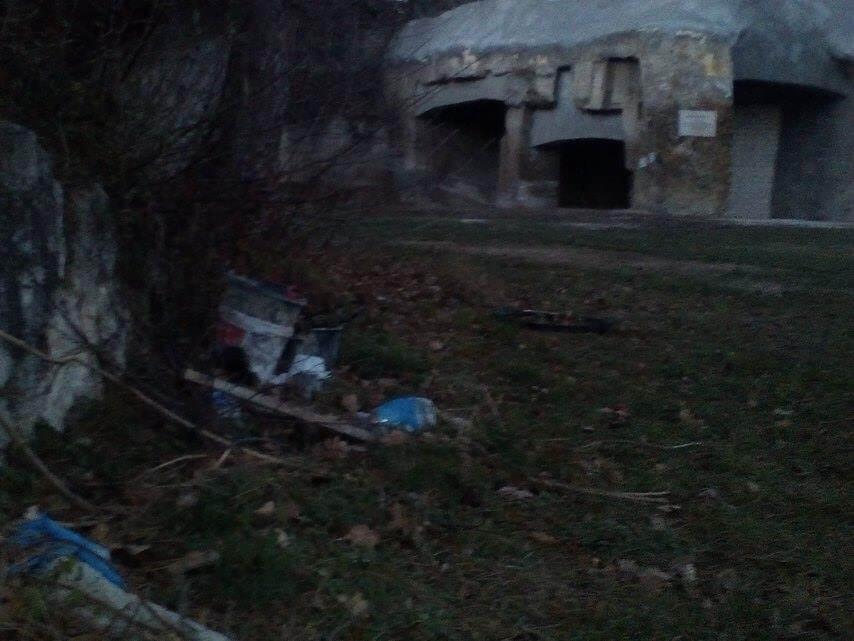 A helyszín a Diósdi kőbánya. Fotó: hulladekvadasz.hu