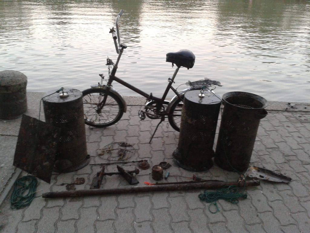 Így kell gyalog érkezni, de biciklivel távozni. Fotó: magneshorgaszat.hu