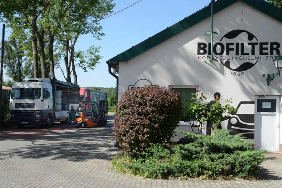 A Biofilter Zrt. törökbálinti telephelye. Fotó: Rácz Mihály