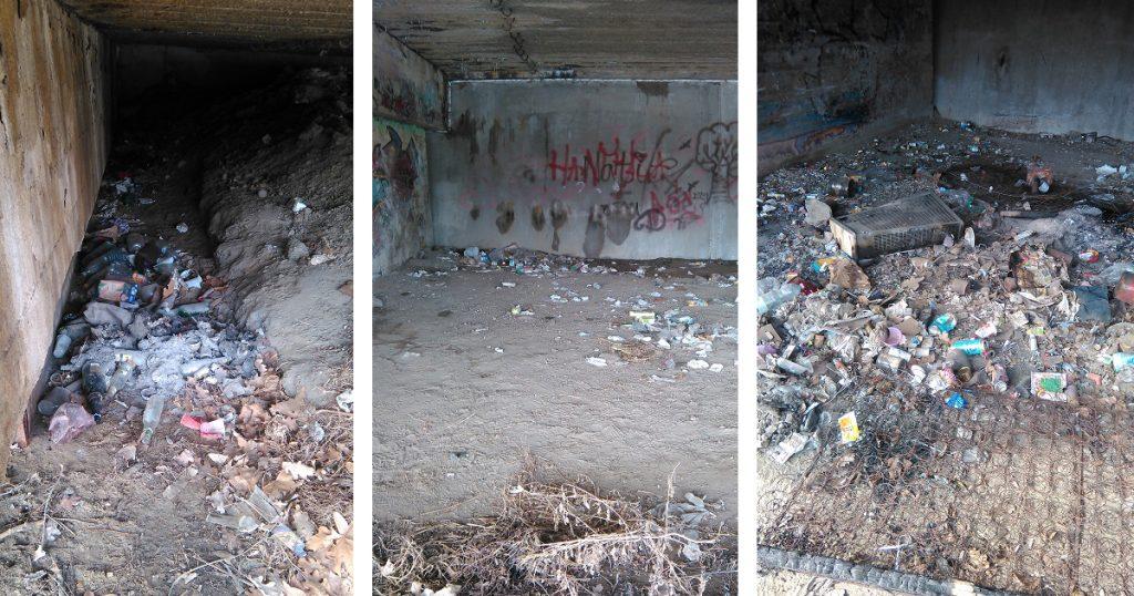 Az Árvízi emlékmű alatti terület. Kell ennél több? / Fotó: hulladekvadasz.hu