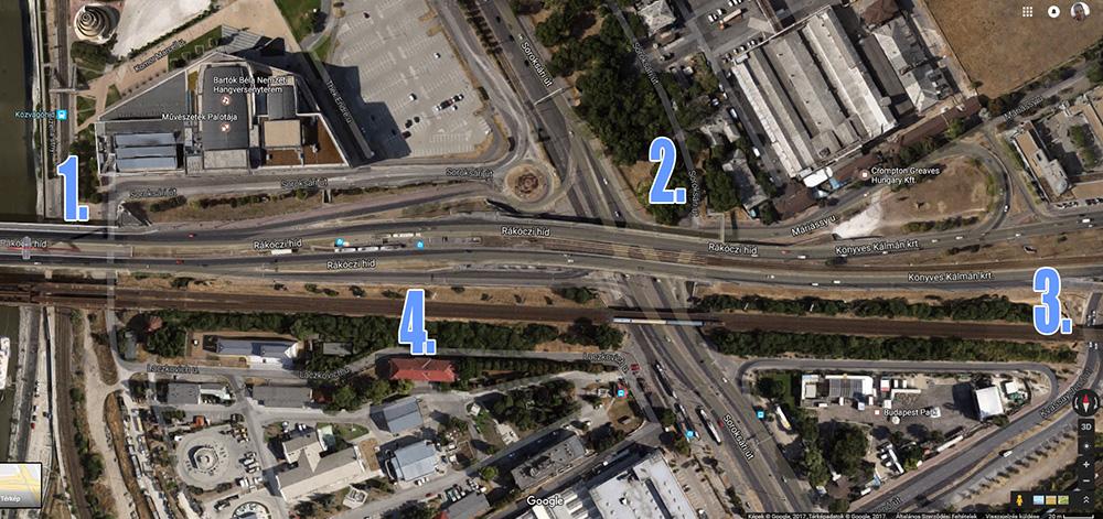 A jellemzően hulladékkal terhelt helyszínek. / Fotó: Google Maps