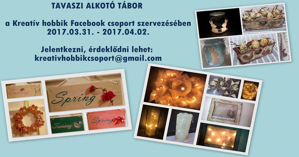 Az esemény reklámplakátja. / Fotó: Kreatív hobbik csoport