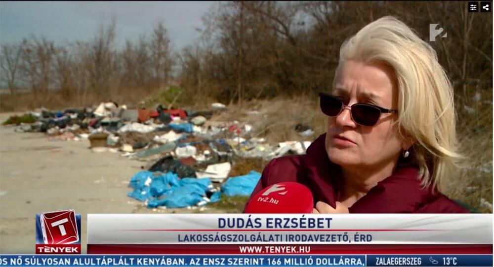 Dudás Erzsébet, Lakosságszolgálati irodavezető, Érd. / Fotó: tv2.hu
