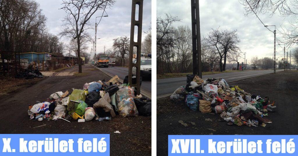 Szemét a végeken, avagy hogyan szívassuk meg a szomszédos önkormányzatot. / Fotó: hulladekvadasz.hu