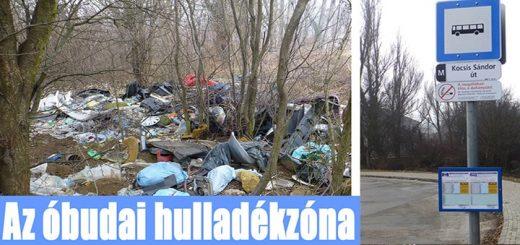Az óbudai Csúcshegy hulladékzónája Tarlós István