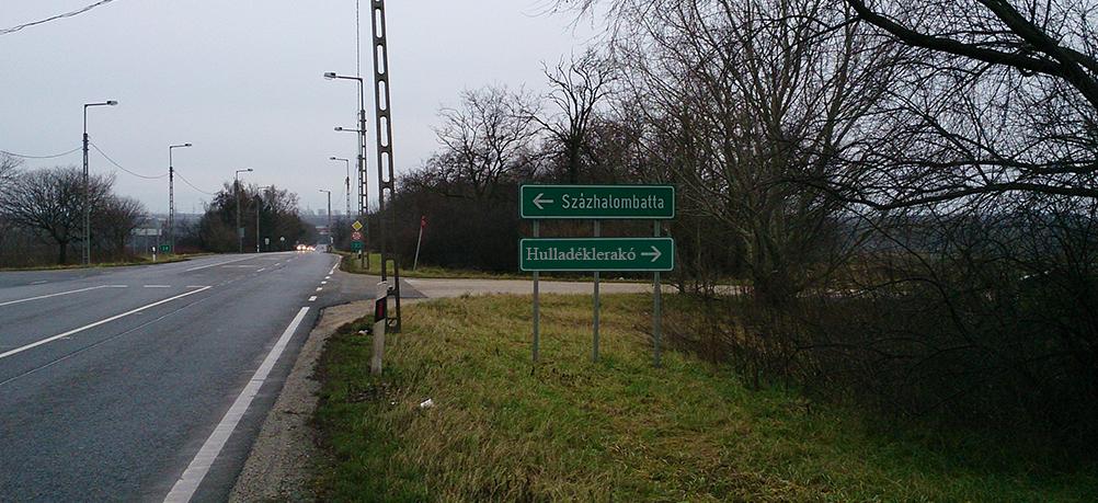 6-os főút Kép: illusztráció. Képre kattinva a korábbi bejelentés elérhető. / Fotó: hulladekvadasz.hu