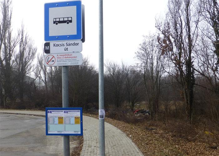 Az óbudai hulladékzóna kezdete. / Fotó: hulladekvadasz.hu