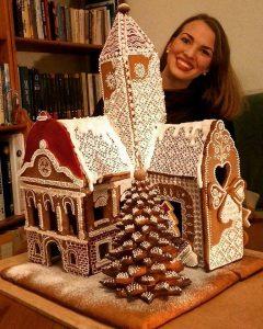 Kreatív hobbik Marton Anna: Mézeskalács kastély
