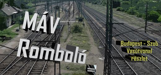 MÁV Romboló: Budapest – Szob vasútvonal