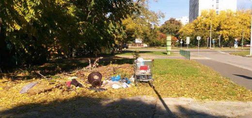 Kőbányai Hatház utca állandósult hulladékhalmai (ÚJRATÖLTVE)