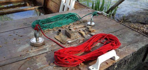 Mágnes horgász felszerelés