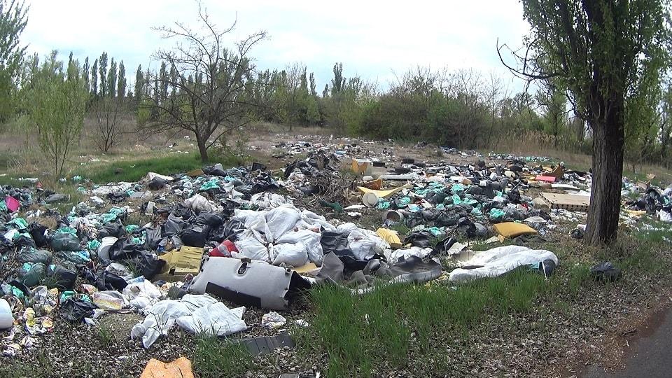 Soroksár hulladékmezője. / Fotó: hulladekvadasz.hu