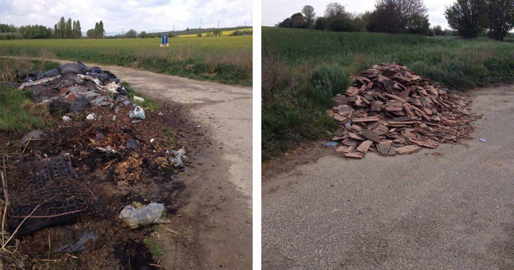 Vác határában nem éppen rózsásak a környezeti állapotok. / Fotó: hulladekvadasz.hu