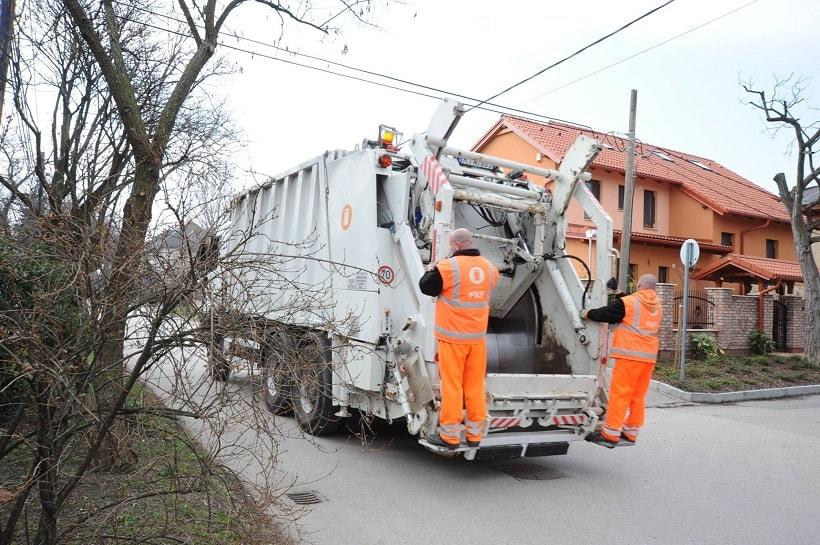 A zöldhulladék elszállítás hamarosan folytatodik. / Fotó: facebook.com/FKFZrt