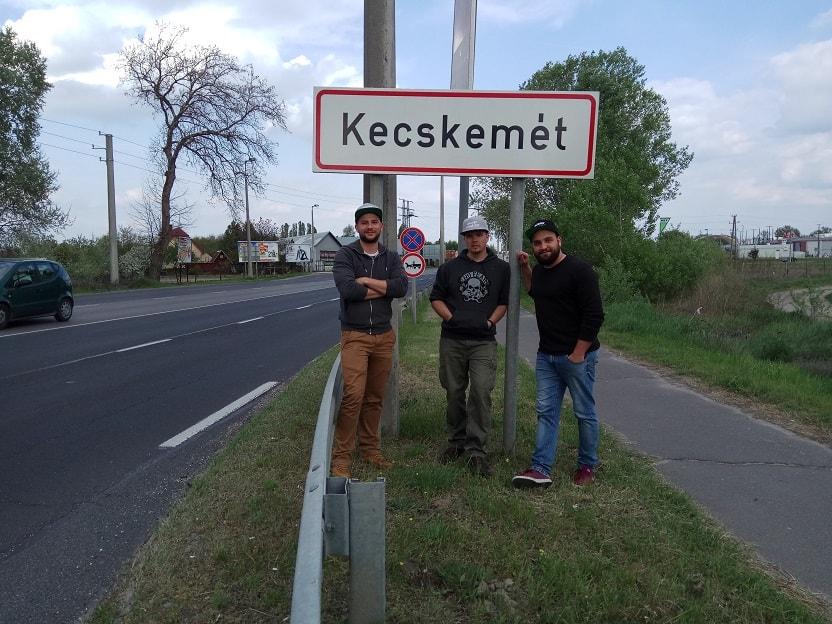 Bevették Kecskemétet is. / Fotó: magneshorgaszat.hu