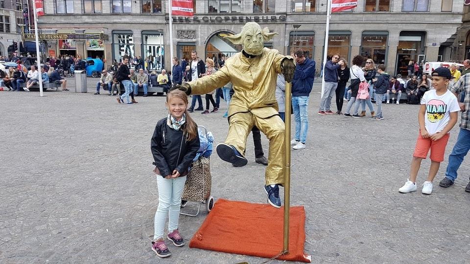 Dam tér, Amsterdam, Hollandia