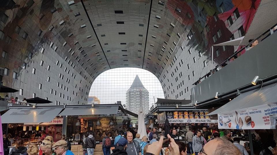 Markthal, Rotterdam, Hollandia