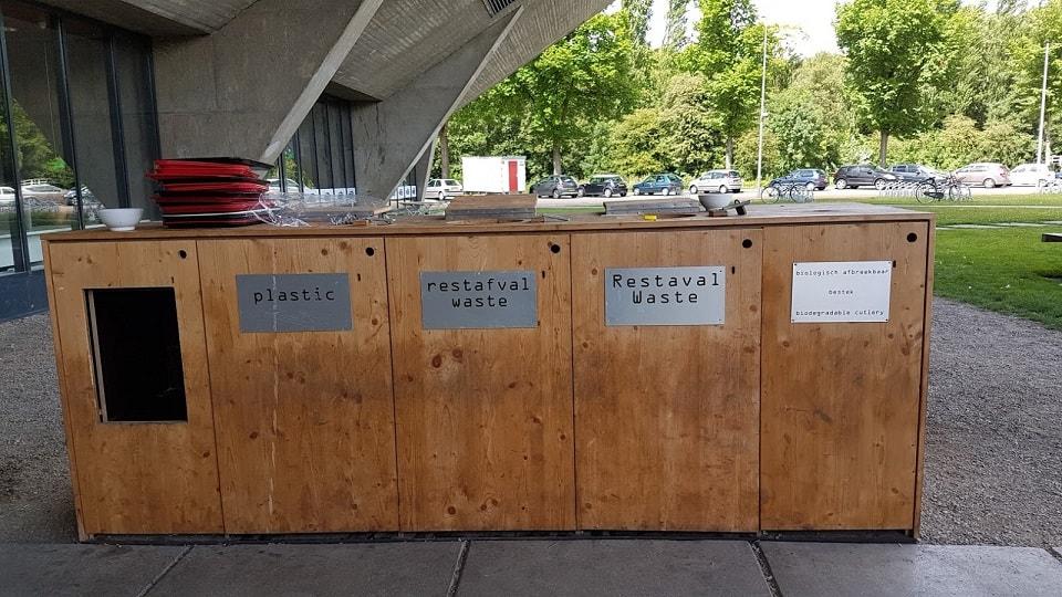 Hulladék nyomában - Egyetemi menza szelektív hulladékgyűjtője