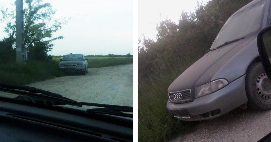 Autótemető Szigetszentmiklós határában. / Fotó: hulladekvadasz.hu