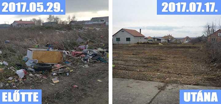 Bicske, Rigó utcai hulladéklerakat (Frissítve)