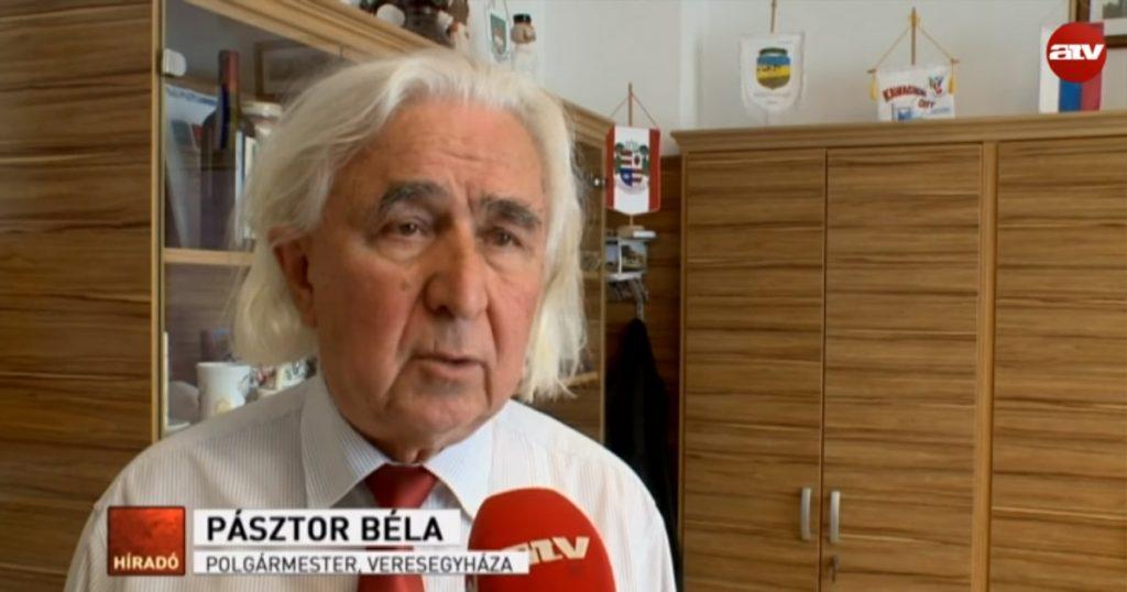 Pásztor Béla, Veresegyház polgármestere. / Fotó: atv.hu