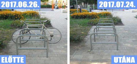 Biciklitároló Budapest - köztéri kerékpártárolás (Frissítve)