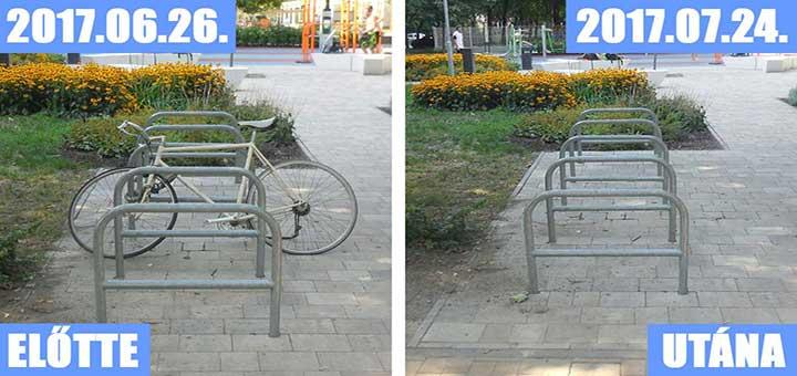 Biciklitároló Budapest – köztéri kerékpártárolás (Frissítve)