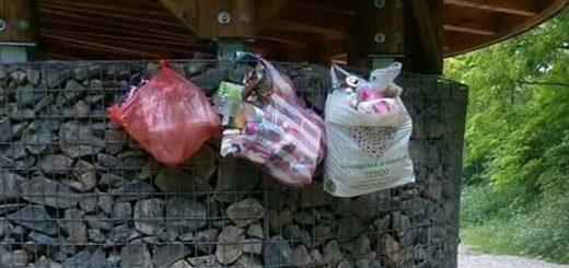 Nográdszakál, Páris-patak szurdokvölgy hulladéklerakása