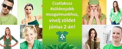 #zöldenjobb akció környezetvédelem népszerűsítéséért