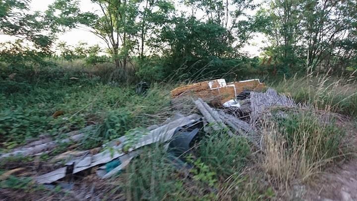 Hullámpala, mint veszélyes hulladék. Igen, veszélyes! / Fotó: hulladekvadasz.hu