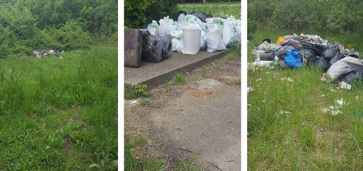 Őrmező hulladéklerakásai a volt Apenta telep mellett