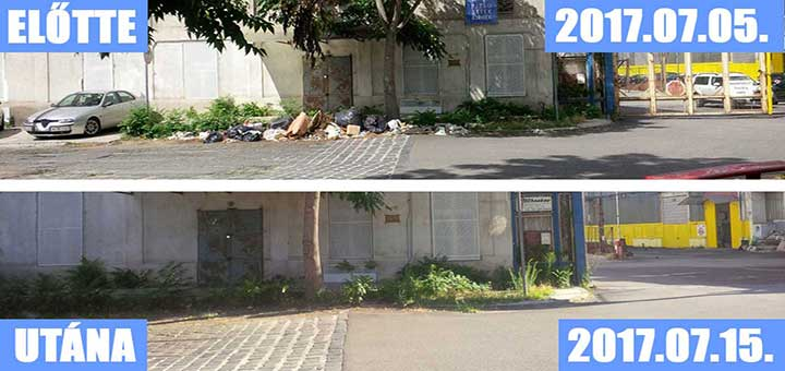 Golgota út hulladéklerakata Józsefvárosban (Frissítve)