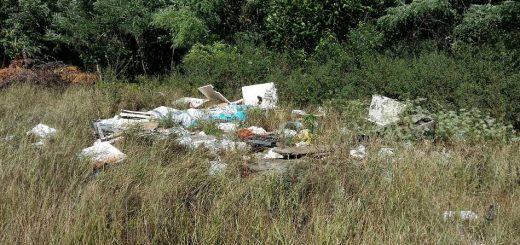 Isaszeg határán illegális hulladéklerakások