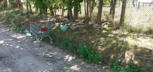 Kecskeméti Írisz utca hulladéklerakata