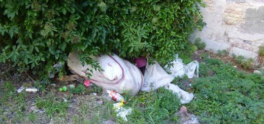 Nagytétényi út mentén hulladéklerakás