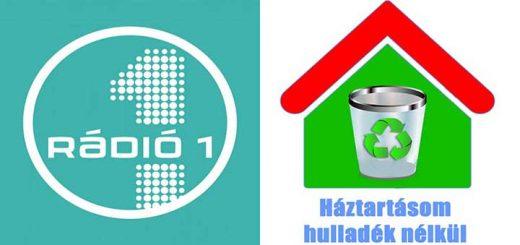Rádió 1 műsorán a Háztartásom hulladék nélkül háziasszonya